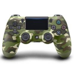 PS4 Control Dualshock Green Camouflage