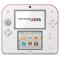 Consola 2DS Scarlet Red