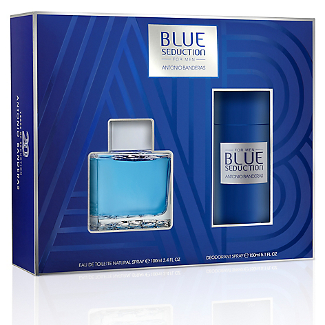 Set Blue Seduction Men EDT 100 ML + Desodorante 150 ML
