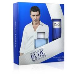 Seduction Blue EDT 50 ML + After Shave 50 ML Masculina