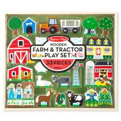 Set de Juego Granja y Tractor