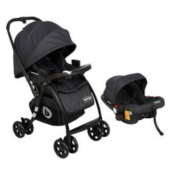 Coche Travel System Spring Negro