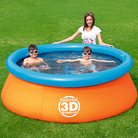 Piscina Adventure Pool 213 x 66 cm