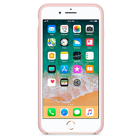 Iphone 7/8 Plus Silicone Case Pink
