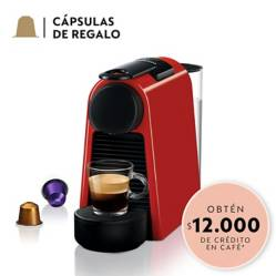 Cafetera Essenza Mini Roja