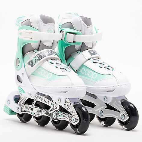 PATINES SCOOP  BLANCO C/LUCES
