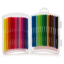 Marcadores Escolares 24 Colores Es