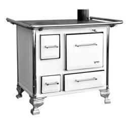 Cocina a Leña Mueble 80x56 Blanca