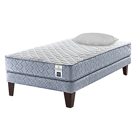 Cama Europea Essence 3  1 Plaza Base Normal + 1 Almohada