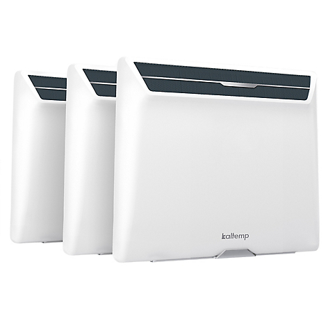 Pack 3 Convectores Wally WiFi 1000 Inverter