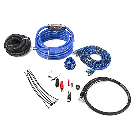 Kit De Cable Amplificador Bowmann