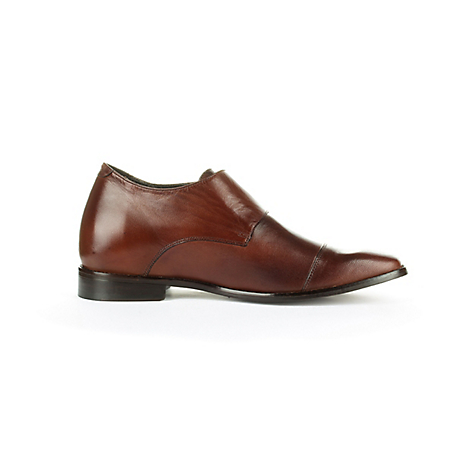 Mocasin Formal lawyer Dark Brown + 7 cm
