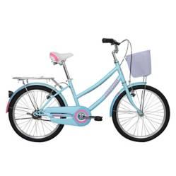 Bicicleta Cyclotour 1V Verde Rosado Aro20