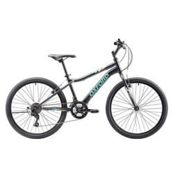 Bicicleta Drako 18V Grafito Turquesa Aro24