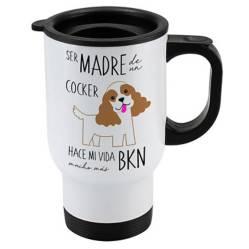 Mug 410cc Cocker Spaniel Madre