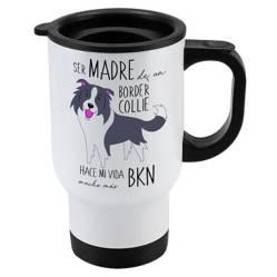 Mug 410cc Border Collie Madre