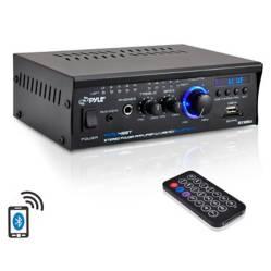 Mini Amplificador Pyle Con Bluetooth Pcau48Bt