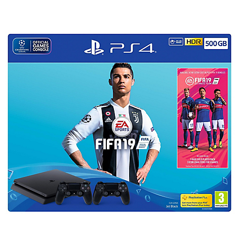 Consola PS4 FIFA 500GB 2 Controles