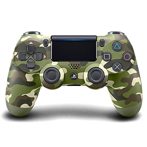 Dualshock Green Camouflage PS4