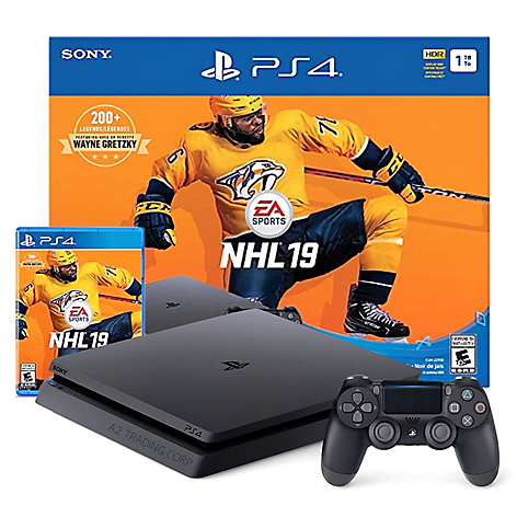 Consola PS4 Slim 1TB NHL19 Bundle