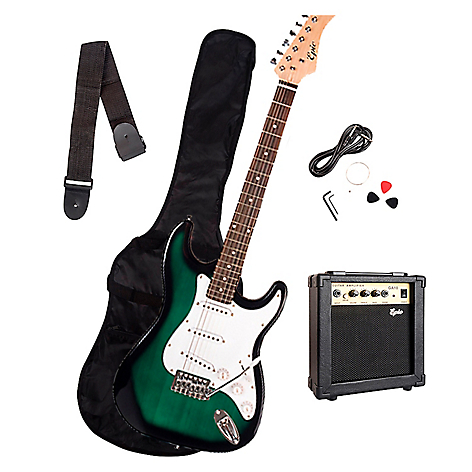 Combo Guitarra Gs-Green + Amp 10W