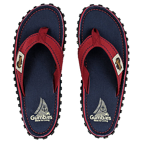 Sandalia Gumbies Canvas Navy Coast U