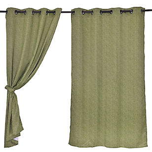 Set Cortinas de Ambientes Sunout Green