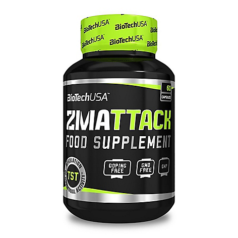 Zma Attack Ultra Concentrated 60 Caps 60 Serv