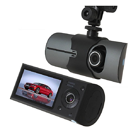 Camtek Cámara Camtek R300 Dvr Full Hd Doble Autos Gps Sen