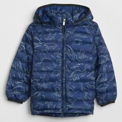 Parka Puffer Toddler Boy Gris