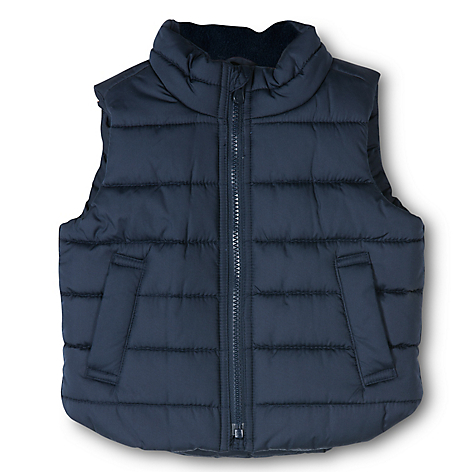 Parka Toddler Boy Azul Marino