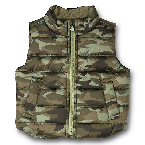 Parka Toddler Boy Verde Militar