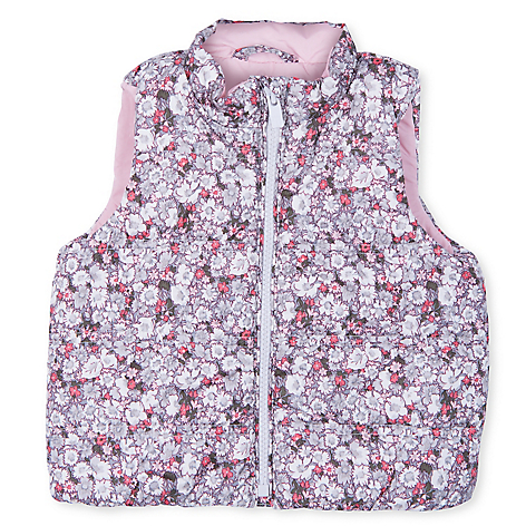 Parka Puffer Toddler Girl Rosa
