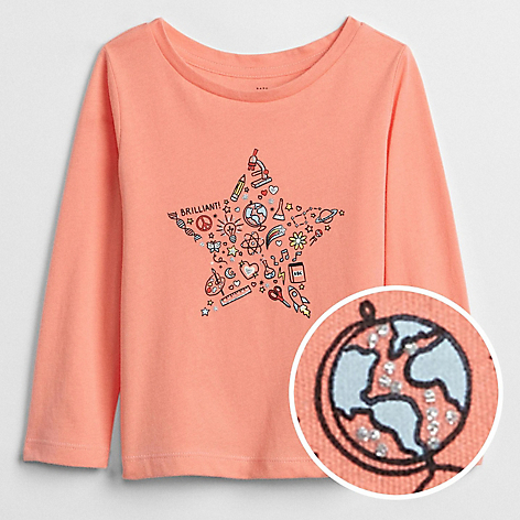 Polera Toddler Girl Rosa
