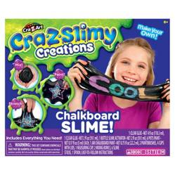 Crazslimy Slime Charcoal Carbón
