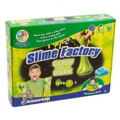 Science 4 You Set Ciencia Slime Brilla En La Oscur