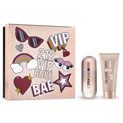 212 Vip Rosé Edp 80 Ml + Body Lotion 100 Ml