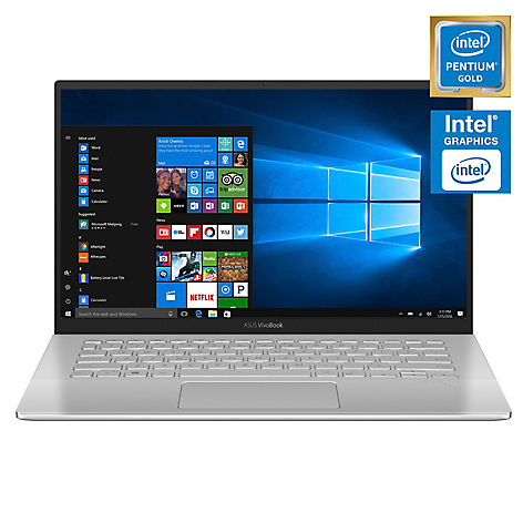 Notebook Intel Pentium Gold 4GB RAM-128SSD 14