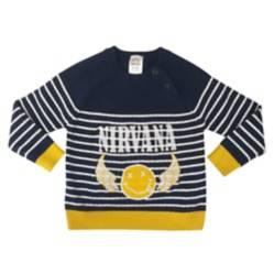 Sweater Nirvana Happy Face