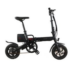 Bicicleta Eléctrica Mini Negra