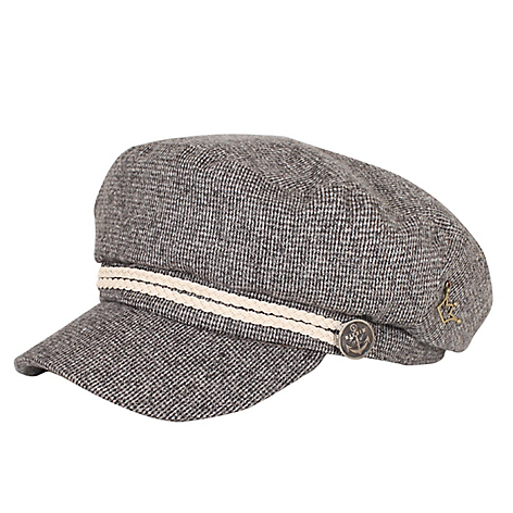 Gorro baker boy hat tweed