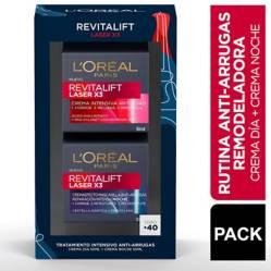 Pack Revitalift Laser X3 Dia Noche