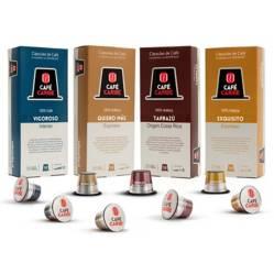 Pack Gourmet - 40 Cápsulas para Nespresso