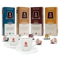 Set Regalo 2 Tazas + 40 Cápsulas para Nespresso