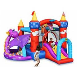 Juego Inflable Dragones