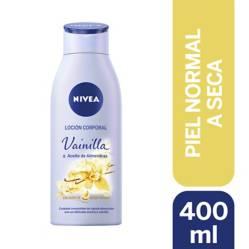 Loción Corporal Nivea Vainilla & Aceite de Almendras 400Ml