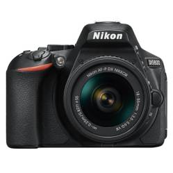Nikon Camara Reflex D5600 + Lente 18-55 mm
