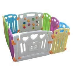 Corral para Bebé 8+2 Colores