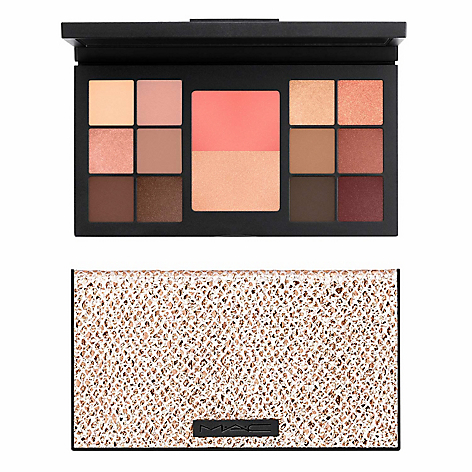Paleta de Sombras y Rostro Warm Palette Eye and Face