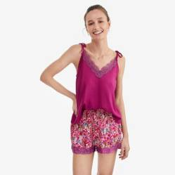 Pijama Mujer Blossom Pink